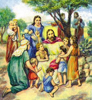 Iisus-cu-copii