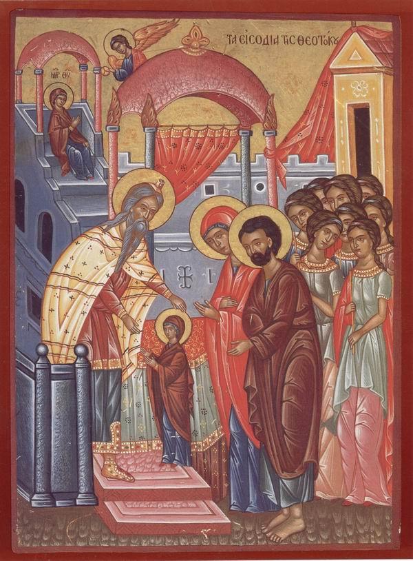 Omilia 52 a Sfântului Grigorie Palama la Intrarea în Biserică a Maicii Domnului