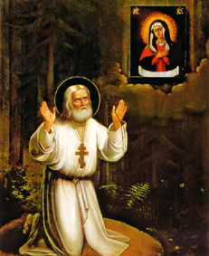2 ianuarie – pomenirea Sfântului Serafim de Sarov