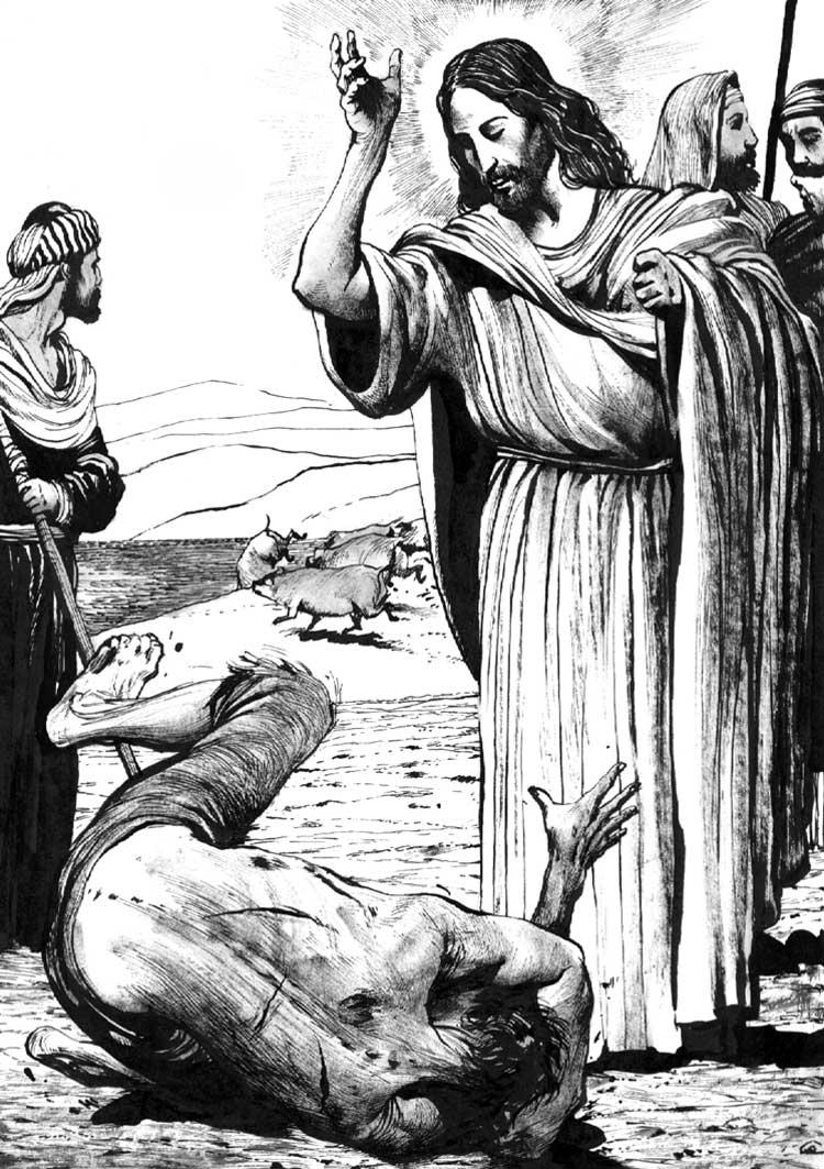 Îndrăcitul din latura Gadarenilor