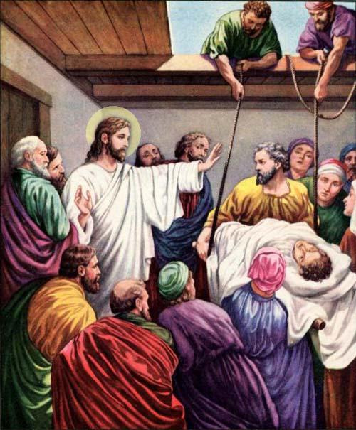 """Iisus văzând credința lor""…Mat. 9, 2"