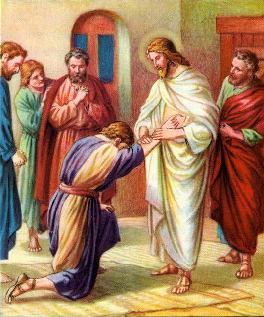 PRIN CREDINŢĂ EŞTI MAI FERICIT CA TOMA CARE A PUS MÂNA…