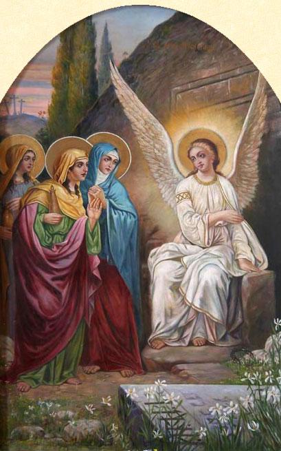 Evanghelia despre femeile mironosiţe