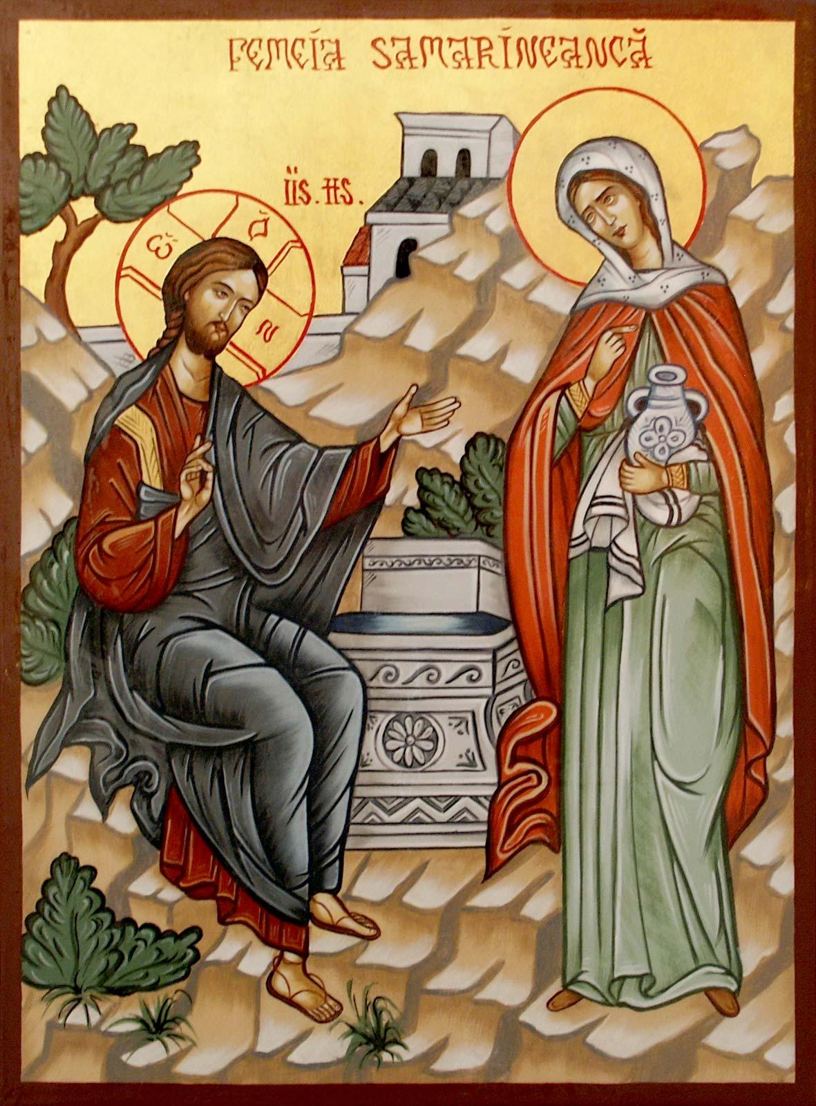 Evanghelia despre dătătorul de apă vie şi femeia samarineancă