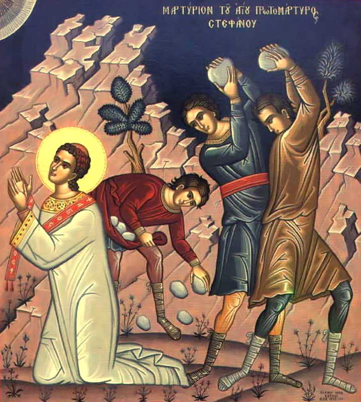 [Sfântul Ştefan a fost prima victimă – după Hristos – a credinţei rătăcite şi împotrivitoare]