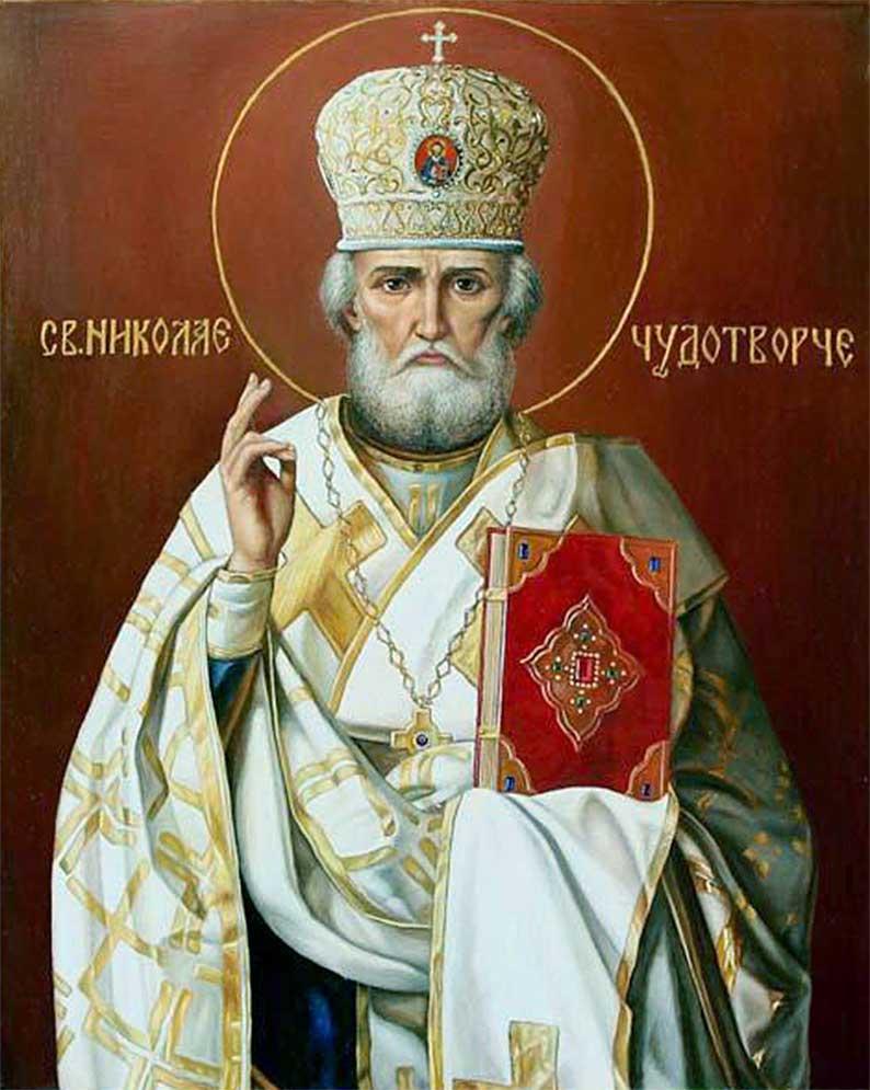 Acatistul Sfântului Nicolae Ierarh al Mirelor Lichiei, Marele făcător de minuni