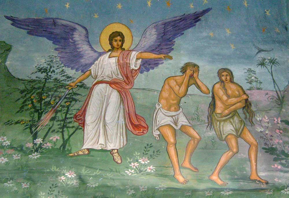 Image result for IZGONIREA LUI ADAM IMAGINI