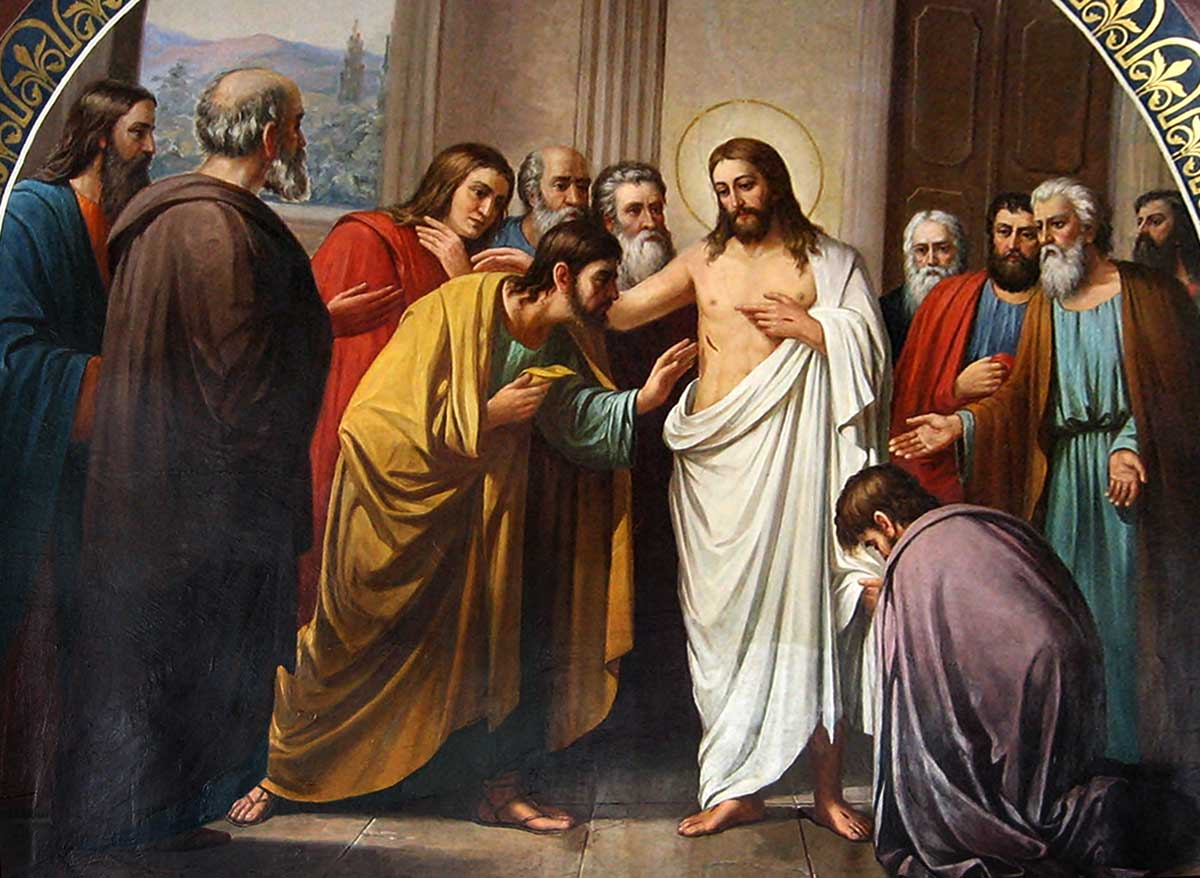 [Hristos – acela cu rănile, acela cu crucea, acela cu sângele!]