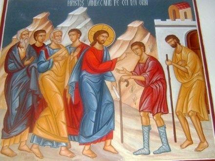 Iisus vindeca doi orbi