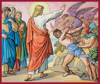 5.Vindecarea celor doi demonizati din gadara