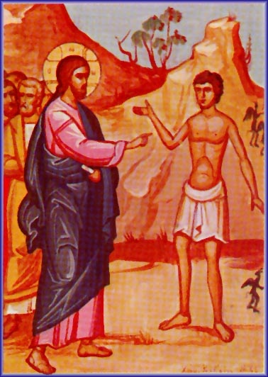 Iisus si demonizatul din gadara