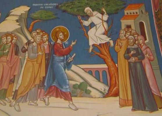 Predică la duminica a 32-a după Rusalii (Zaheu vameşul)