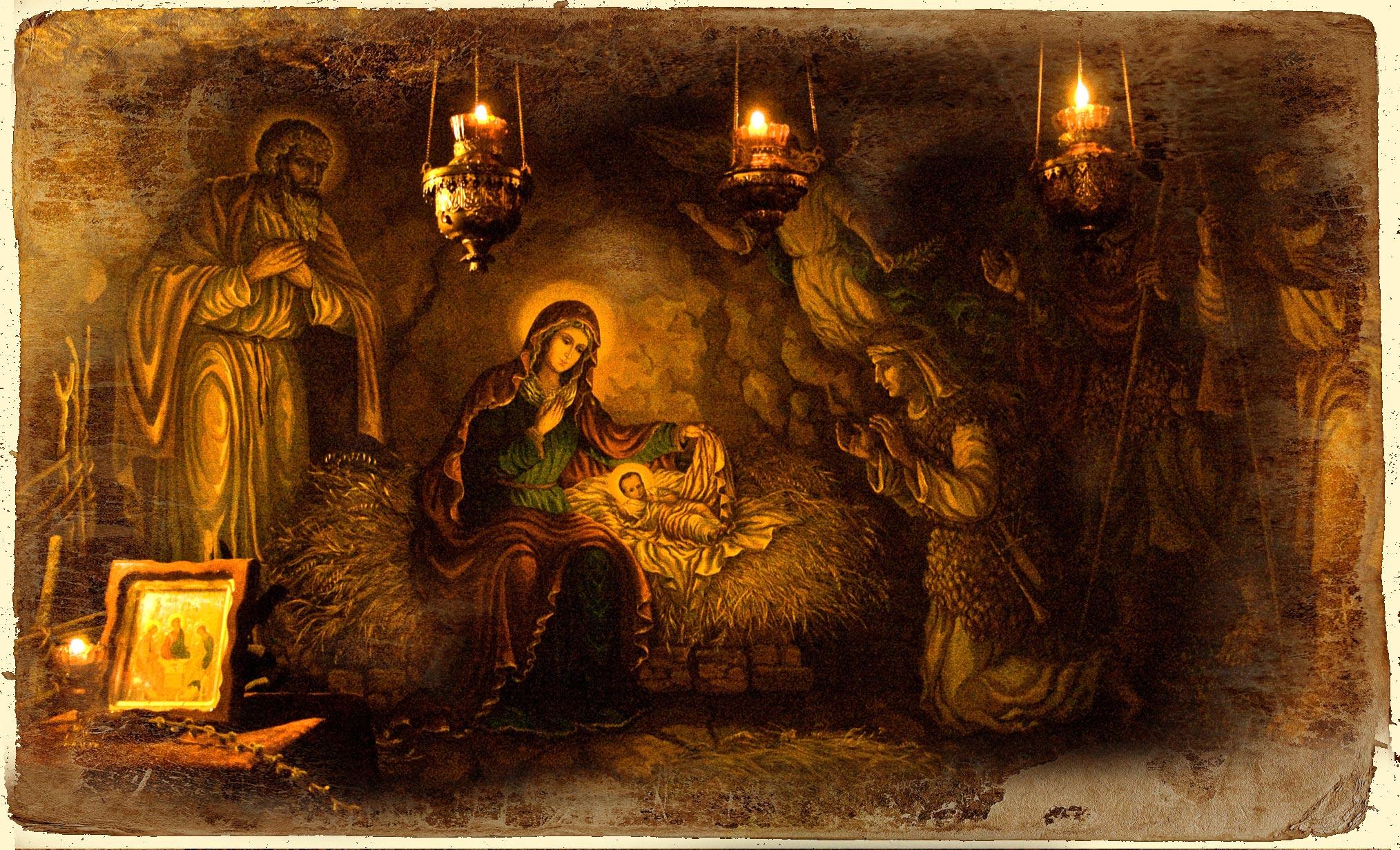 Hristos parcă S-a născut ca să ne salveze numai pe noi