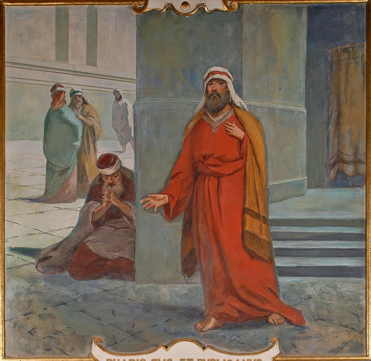 EVANGHELIA DE DUMINICĂ ŞI TÂLCUIREA EI – (a Vameşului şi a Fariseului)