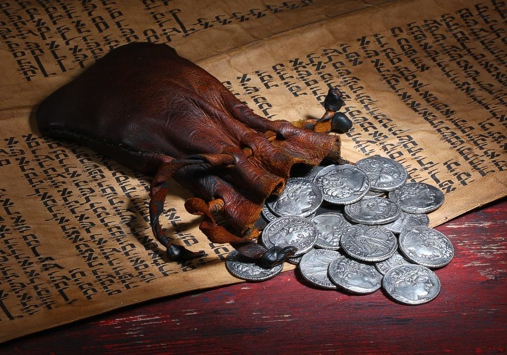 judas-brought-again-the-thirty-pieces-of-silver-to-the-chief-priests-and-elders