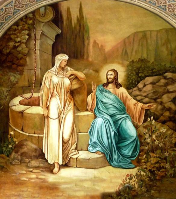 """""""…cine va bea din apa pe care i-o dau Eu nu va înseta în veac"""""""