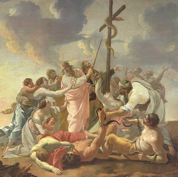 Cea dintâi cruce a fost făcută de Moise