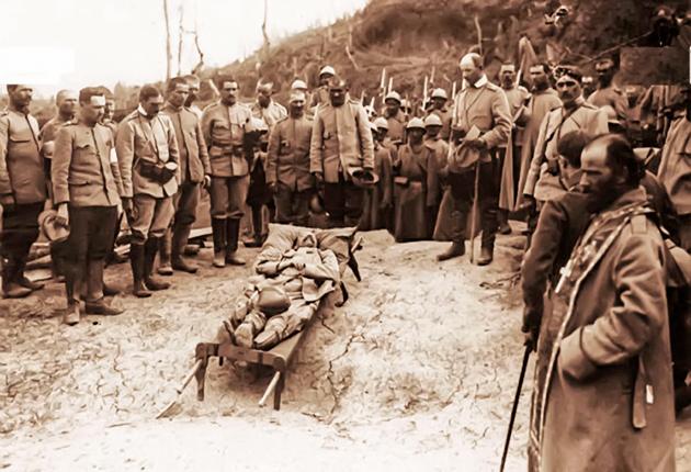 FERICE DE CEI CE AU MURIT în anul de însufleţire 1918