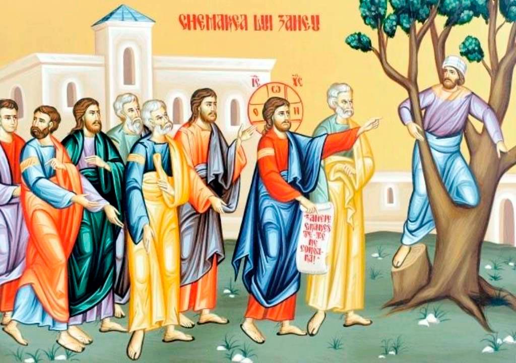 PRECUM ODINIOARĂ AI INTRAT ÎN CASA LUI ZACHEU, aşa, Doamne Iisuse, intră şi în casa României noastre!…