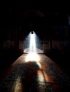 drumul luminii in biserica Patrauti